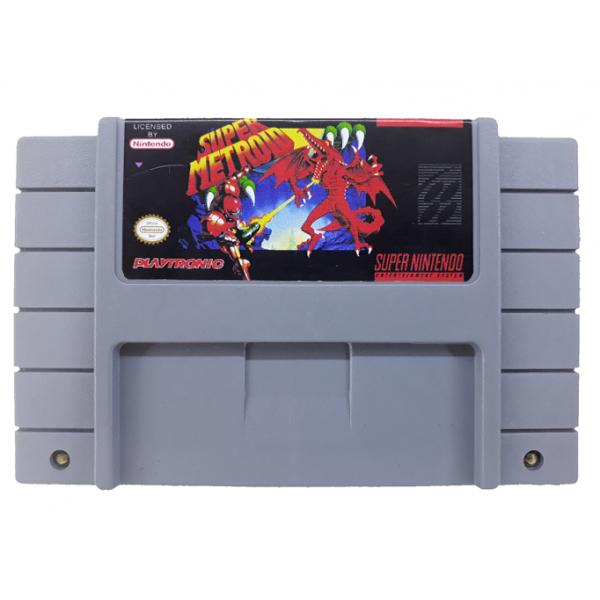Cartucho de Super Nintendo Super Metroid