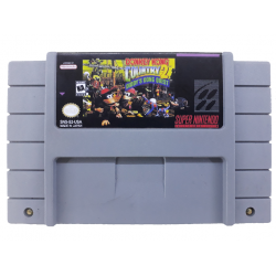 Cartucho de Super Nintendo Donkey Kong Country 2