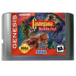 Cartucho de Mega Drive Castlevania: Bloodlines