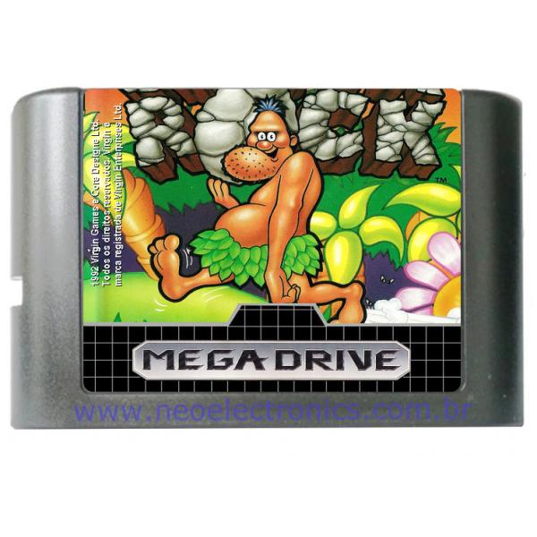 Cartucho de Mega Drive Chuck Rock