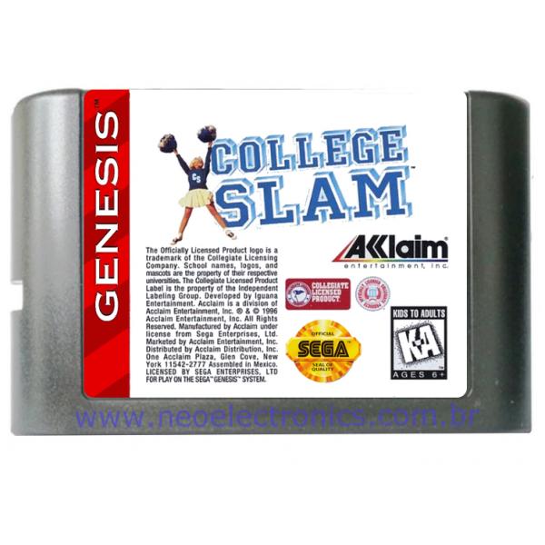 Cartucho de Mega Drive College Slam