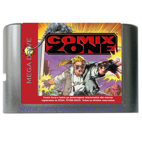 Cartucho de Mega Drive Comix zone