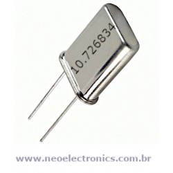 Cristal Oscilador 10.726834 Master System