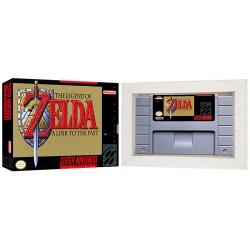 Cartucho Legend of Zelda com Caixa e Berço