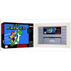 Cartucho Super Mario World com Caixa e Berço