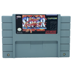 Cartucho de Super Nintendo Super Street Fighter II: The New Challengers